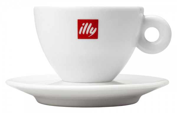 Illy Logo Cappuccinotasse 350ml