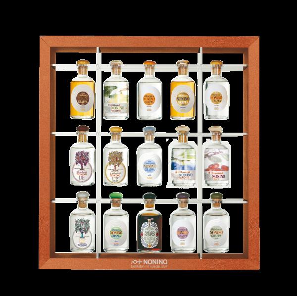 Antologia® Nonino Miniaturflaschen-Kollektion 15 Flaschen