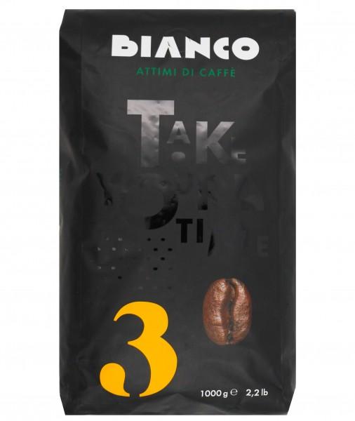 Bianco N° 3 - ganze Bohnen - 50 % Arabica 50 % Robusta