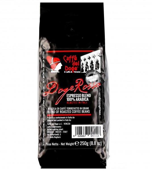 Caffè del Doge Rosso 100% Arabica ganze Bohnen - Angebot