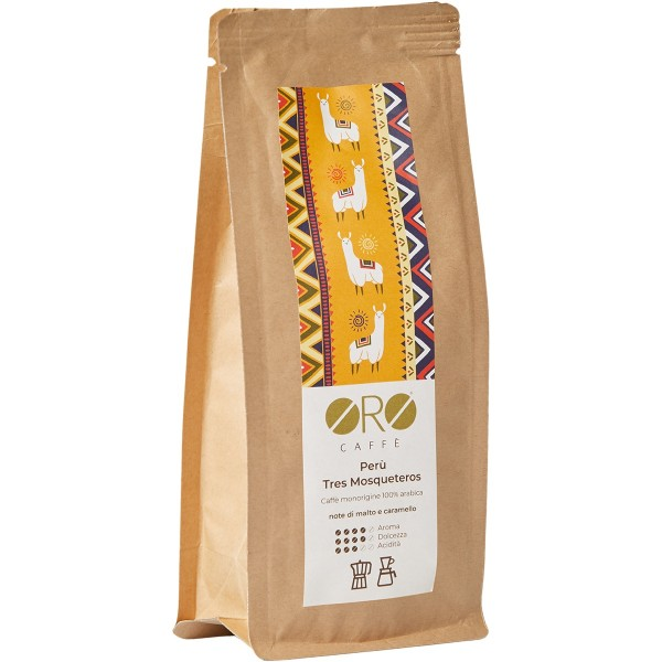 ORO Caffè geröstete Kaffeebohnen Single Origin - Oersu' Peru