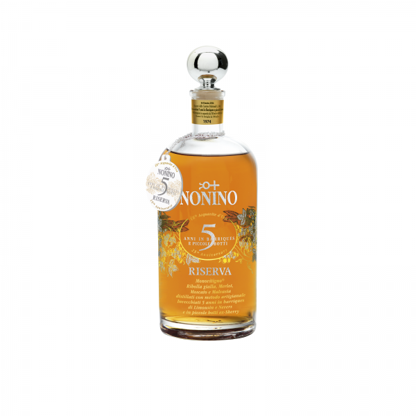 Nonino Riserva Monovitigni® ÙE 5 Jahre gereift Alk. 43 % Vol.