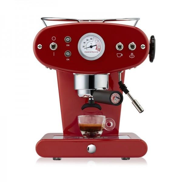 illy X1 ground rubinrot Kaffeemaschine für gemahlenen Kaffee