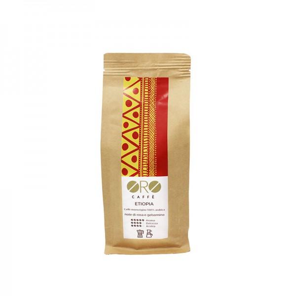 ORO Caffè geröstete Kaffeebohnen Single Origin - Etios Ethiopien