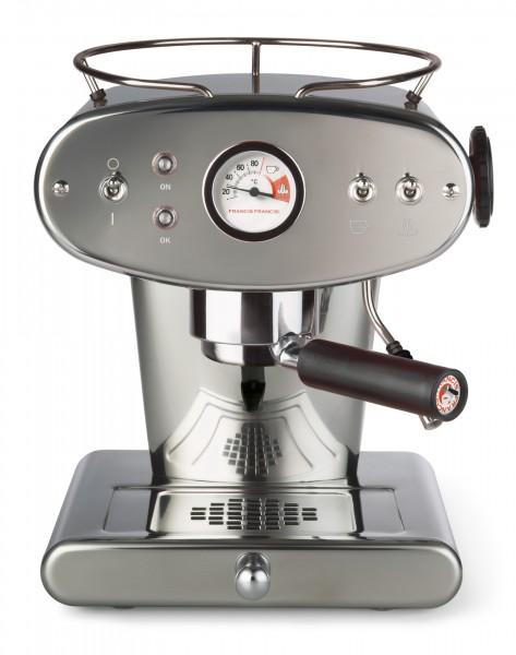 illy X1 ground Edelstahl Kaffeemaschine für gemahlenen Kaffee
