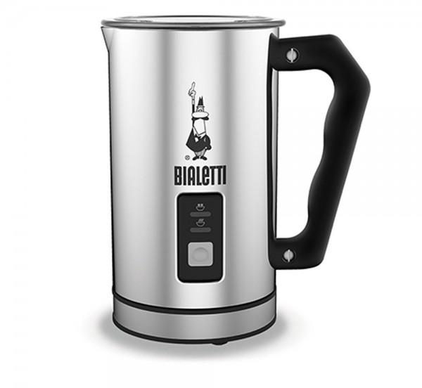 Bialetti Milk Frother elektrischer Milchaufschäumer MK01 Edelstahl