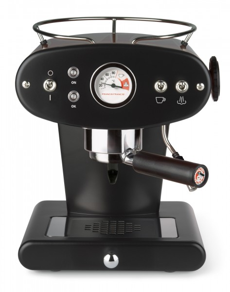 illy X1 ground schwarz Kaffeemaschine für gemahlenen Kaffee