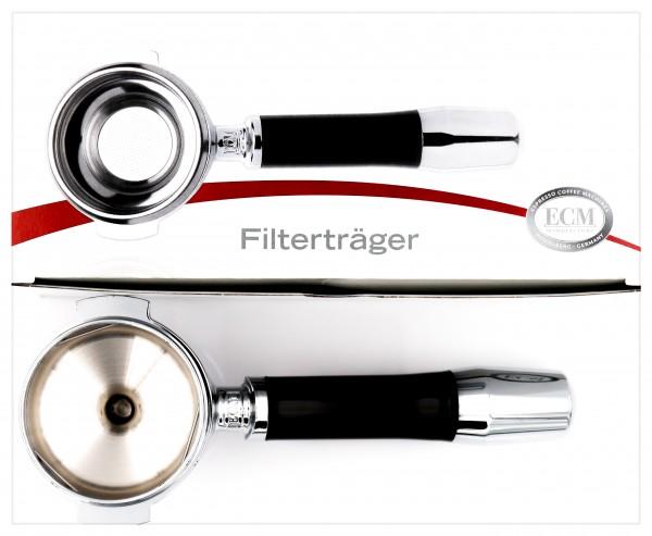 ECM Filterträger mit zwei Ausläufen