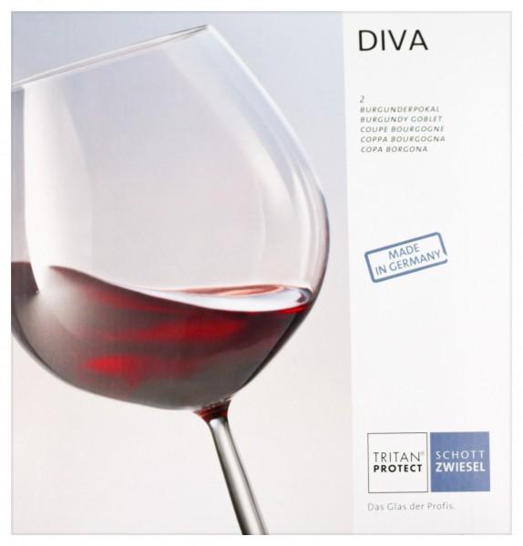 Schott Zwiesel Burgunderpokal DIVA Nr. 140 Geschenkkarton