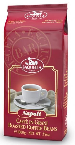 Saquella Napoli Bar ganze Bohnen