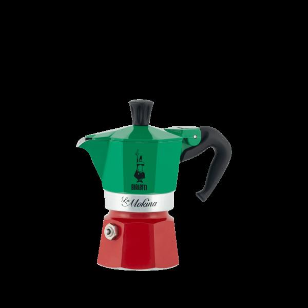 Bialetti Espressokocher Moka Express Italia - Tricolore