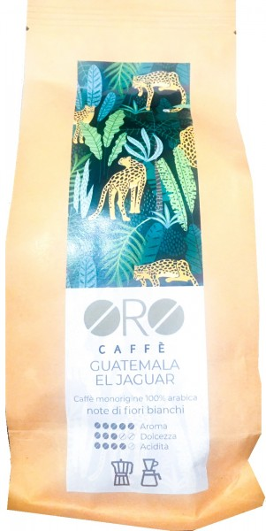 ORO Caffè geröstete Kaffeebohnen Single Origin - Guatemala EL Jaguar