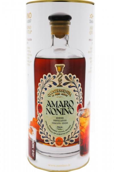 Amaro Nonino Quintessentia® im Zylinder Alk. 35 %Vol