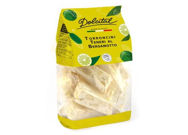 Dolcital weiche Torroncini mit Bergamotte