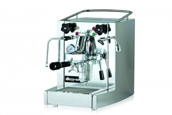 Isomac Millenium Siebträger Kaffeemaschine eingruppig Edelstahl