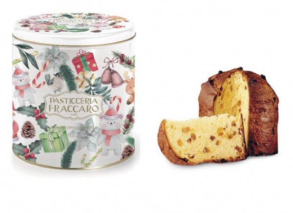 Fraccaro Panettone Classico - Weihnachtsdose