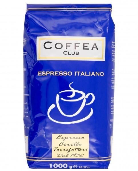 Coffea Blu Supercrema ganze Bohnen