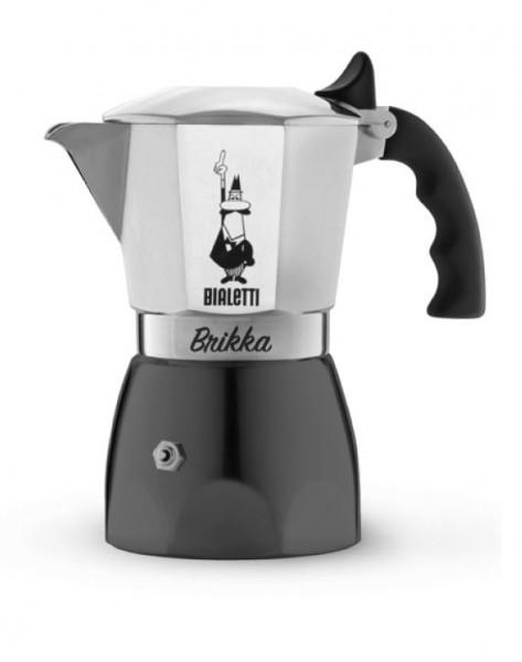 Bialetti Espressokocher Brikka Elite Herdkanne - neustes Modell