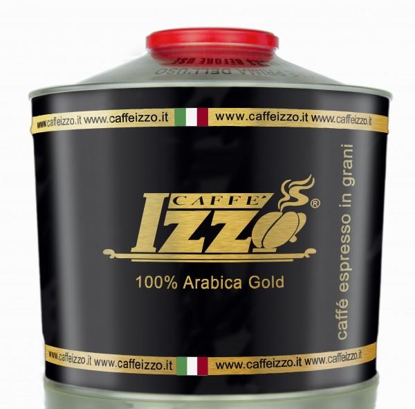 Izzo Gold Premium 100 % Arabica Bohnen Aromadose