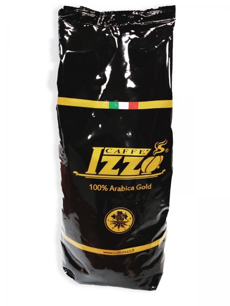 Izzo Gold Premium 100 % Arabica Bohnen Tüte