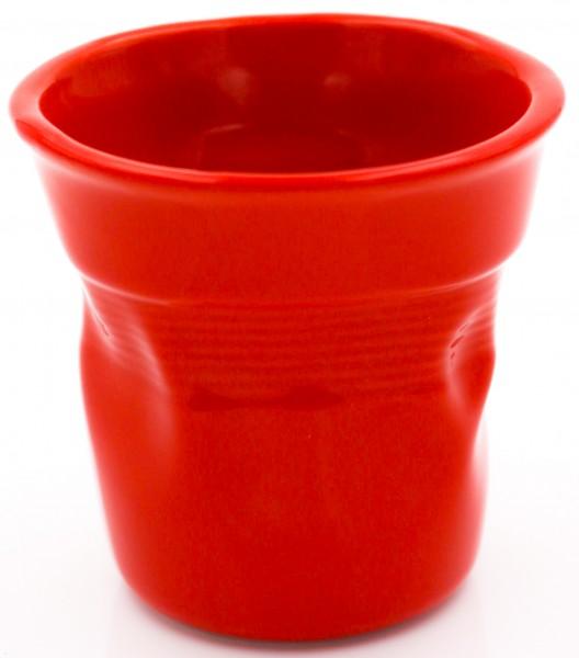 Bialetti Espressobecher Knickbecher rot 6 Stück