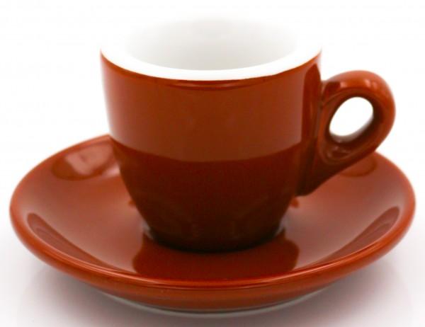 Nuova Point Espressotasse PALERMO braun 56 ml - Direktimport aus Italien
