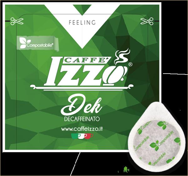 Izzo ohne Koffein 150 ESE Pads