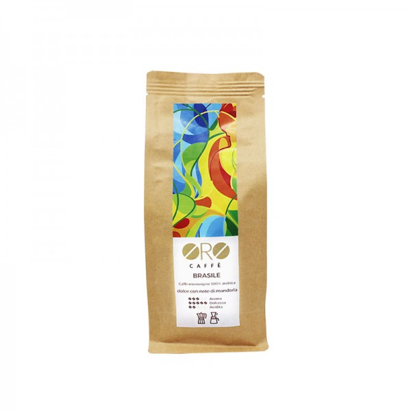 ORO Caffè geröstete Kaffeebohnen Single Origin - Brasilien