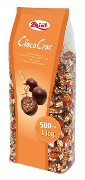 Zaini Ciococroc, knusprige Cerealien umhüllt mit Vollmilchschokolade