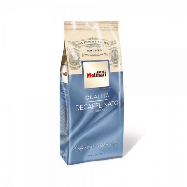 Caffe Molinari ohne Koffein ganze Bohnen