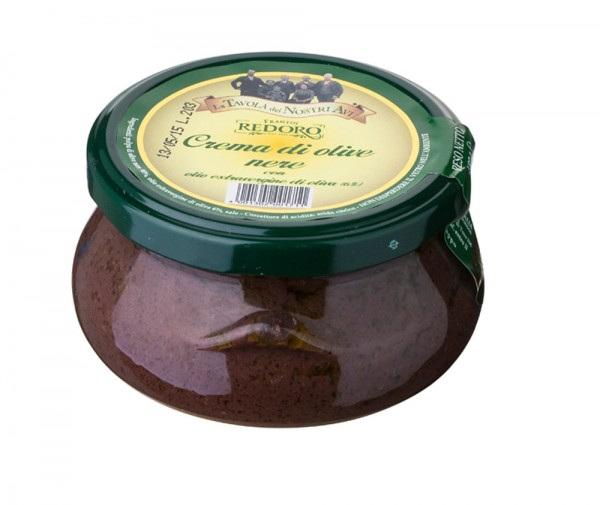 Redoro schwarze Oliven Creme