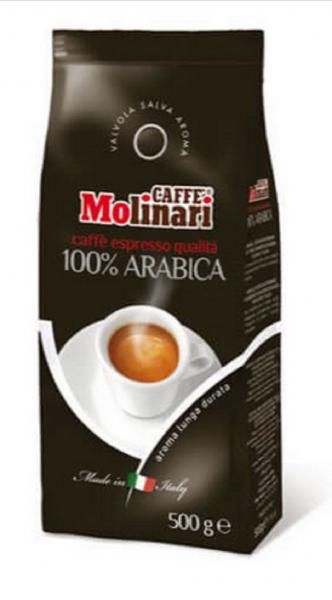 Caffe Molinari Gourmet 100 % Arabica ganze Bohnen