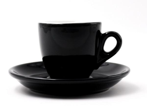 Nuova Point Espressotasse PALERMO schwarz 56 ml