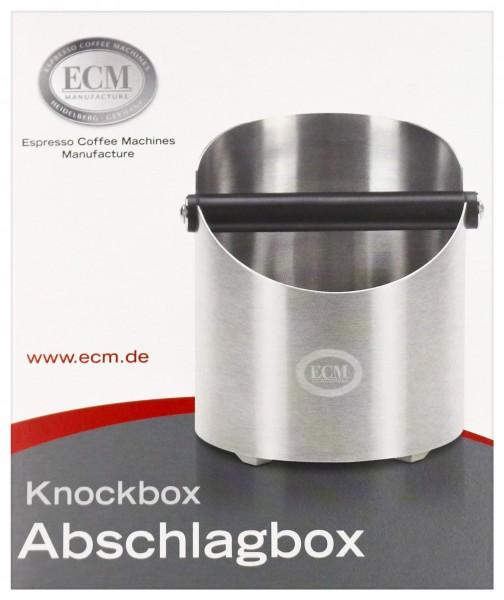 ECM Ausklopfbox Edelstahl satiniert