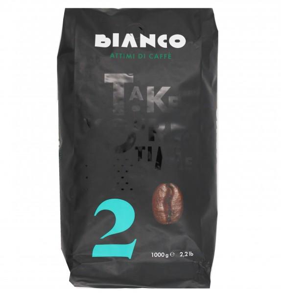 Bianco N° 2 - ganze Bohnen - 80 % Arabica 20 % Robusta