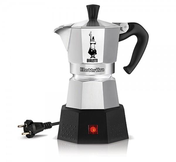 Bialetti elektrischer Espressokocher Moka Elettrika aus Aluminium