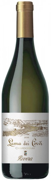 Rivera Lama dei Corvi Chardonnay D.O.C Alk. 13,5 % Vol.