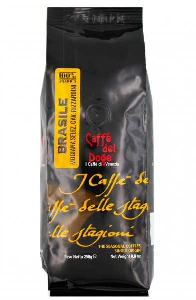 Caffè del Doge Brasilien Monoarabica ganze Bohnen