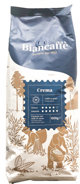 Biancaffe Espressobar Crema ganze Bohnen