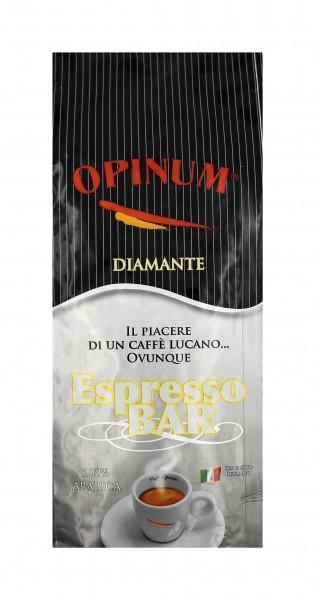 Opinum Diamante 100 % Arabica Miscela Bar ganze Bohnen