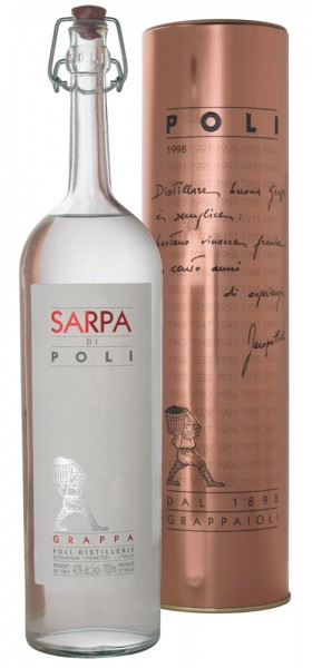 Poli Sarpa Bianca Alk. 40% Vol.