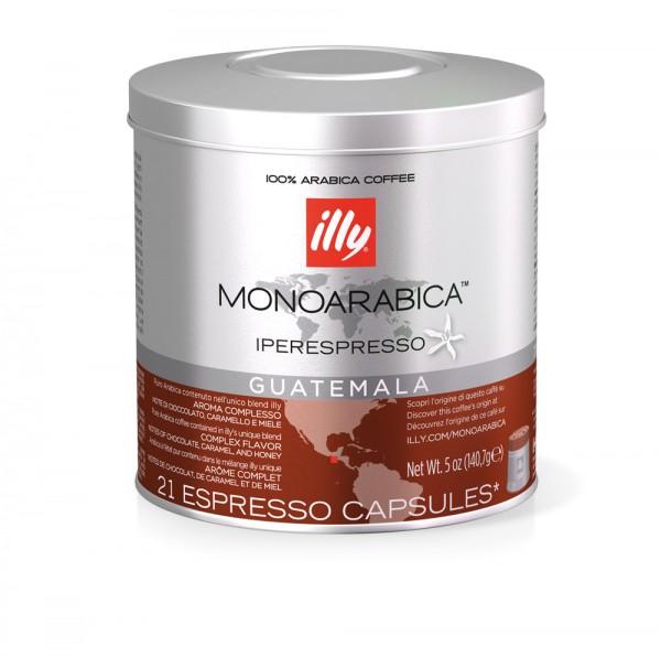 illy Iperespresso Kaffeekapseln Selection Guatemala 21 Stück