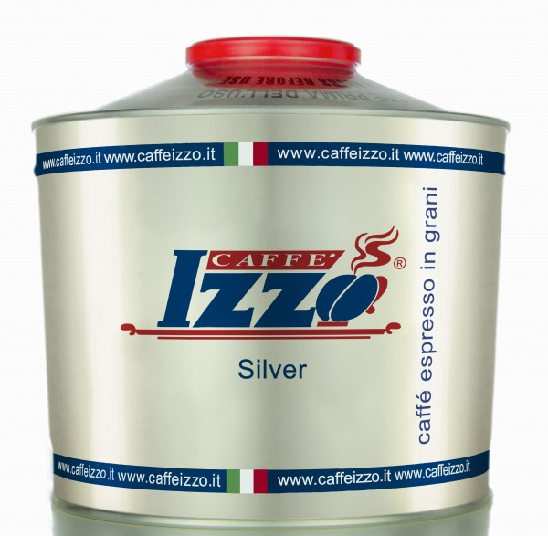 Izzo Caffè Silver Grandespresso Napoletano Bohnen Aromadose