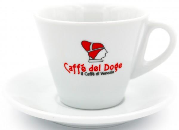 Caffè del Doge Rizzardini Cappuccinotasse weiß 180 ml
