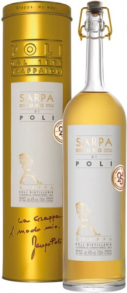 Poli Sarpa ORO Riserva Alk. 40% Vol.