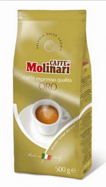 Caffe Molinari Oro ganze Bohnen