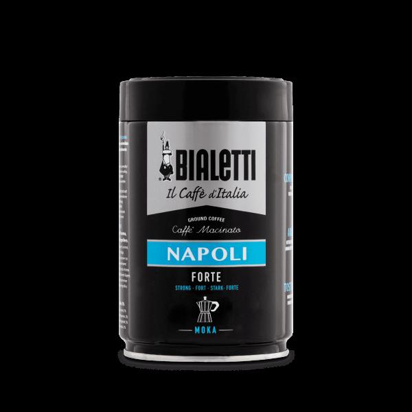Bialetti Napoli Forte Kaffee gemahlen Moka für Herdkannen