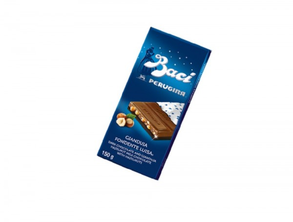 Perugina® by Baci® Tafel Choco Double Zartbitterschokolade und Haselnüsse