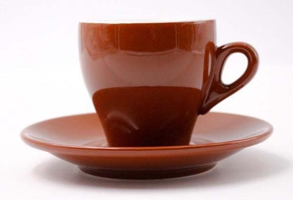 Nuova Point Kaffeetasse MILANO braun 160 ml
