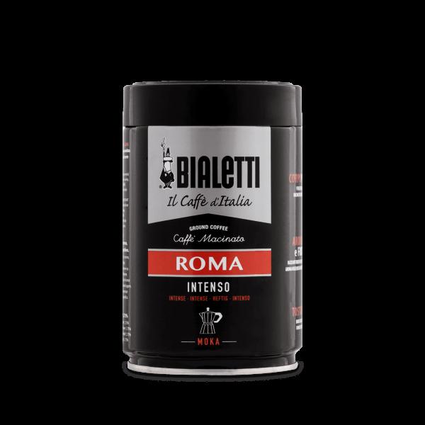 Bialetti Roma Intenso Kaffee gemahlen Moka für Herdkannen